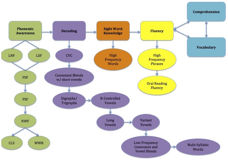 Foundational Skills Flowchart for Literacy